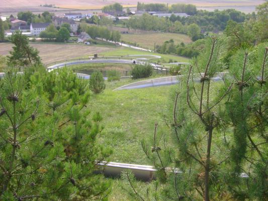 Übersicht Sommerrodelbahn